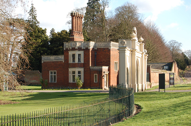 Lodge house, Audley End, Essex