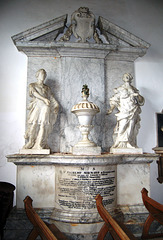 Lord and Lady Maynard Memorial, Little Easton Church, Essex