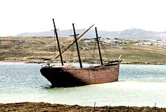 The Lady Elizabeth, Whalebone Cove - Port Stanley