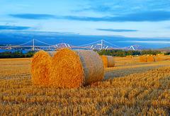 Harvest time in Scotland.