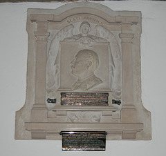 Monument to Francis Earl of Warwick, Little Easton Church, Essex