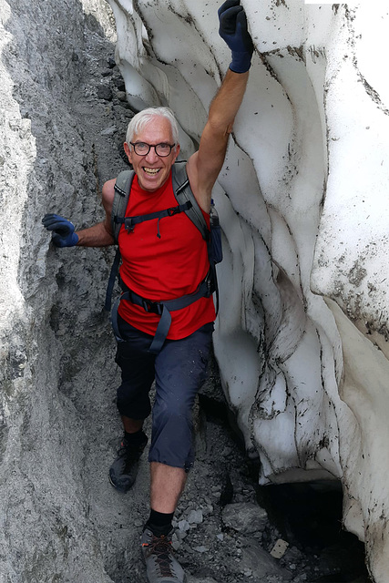 Extreme Rarities (2a): Old Snow at 1,450m End of July