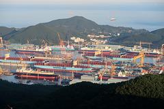 DSME shipyard, Okpo