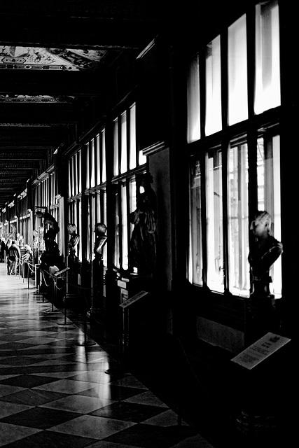 Florence Uffizi Gallery 2 XPro1 mono