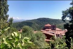 Mogarraz roofscape, Sierra de Francia, Salamanca Province