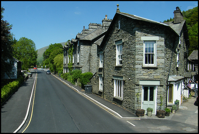 road through Grasmere