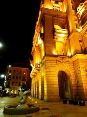 HU - Budapest - Universitätsplatz