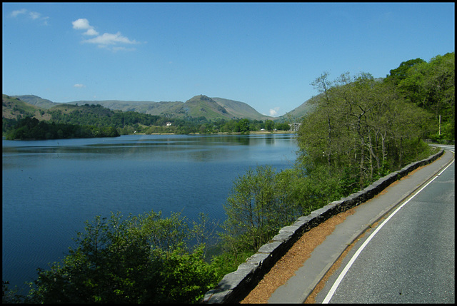 road beside Grasmere