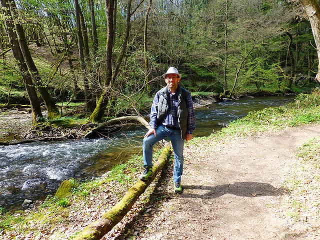 DE - Pillig - me, hiking on the Pyrmonter Felsensteig