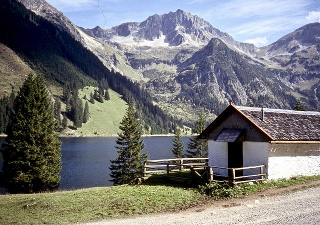 Am Plansee in Tirol. (Diascan)
