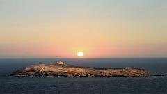 Île de Rachgoun,sentinelle de la Méditerranée