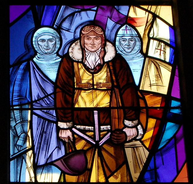 War Memorial Window, Little Easton Church, Essex