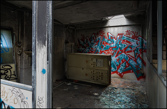 Abandoned Trieste - out of control