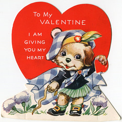 I am giving you my heart, Valentine