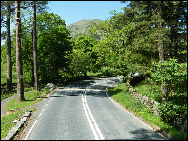 riding along to Rydal