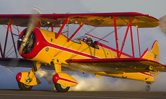 Marcus Paine and Boeing-Stearman Model 75 N999PP