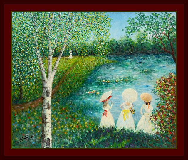 Les jeunes filles à l'étang (1996)