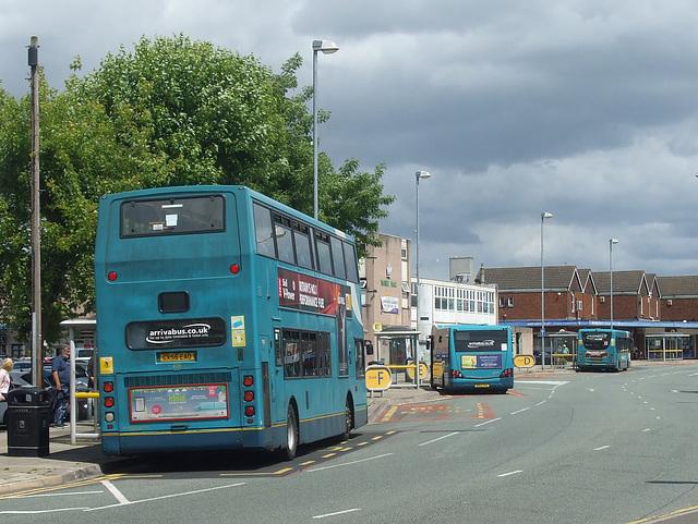 DSCF7661 Arriva buses in Northwich - 15 June 2017