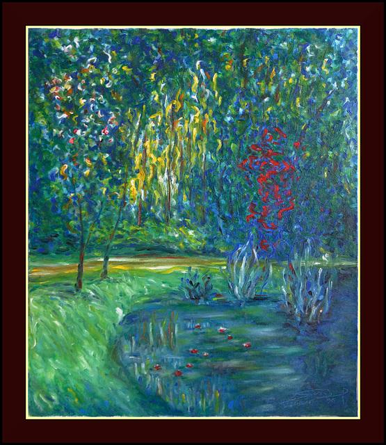 Giverny, d'après Monet (1996)