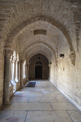 Bethlehem, Gallery in the Church of St. Catherine