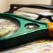 Magnifying Glass and Reading Glasses