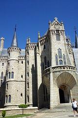 Palacio Episcopal, Astorga (Castille-et-León, Espagne)