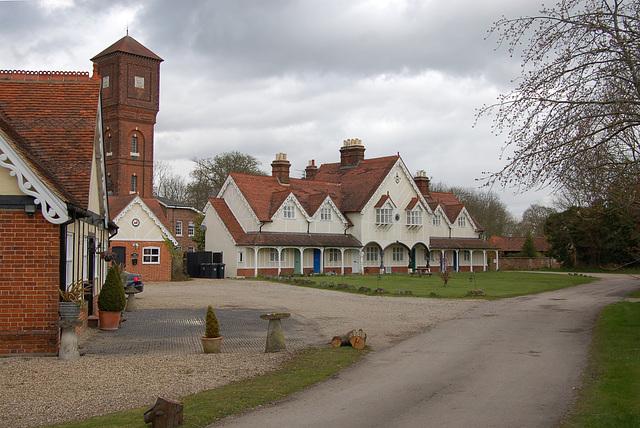 Stable Courtyard,  Easton Lodge, Little Easton, Essex