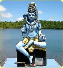 MAURICE ISLAND - statua induista