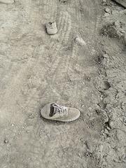 Found Item Mud Sneakers