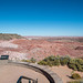 The viewing platform at the painted desert