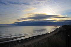 Early morning at East Runton
