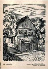 Zamenhofa naskiĝdomo en Bjalistoko (desegnaĵo)