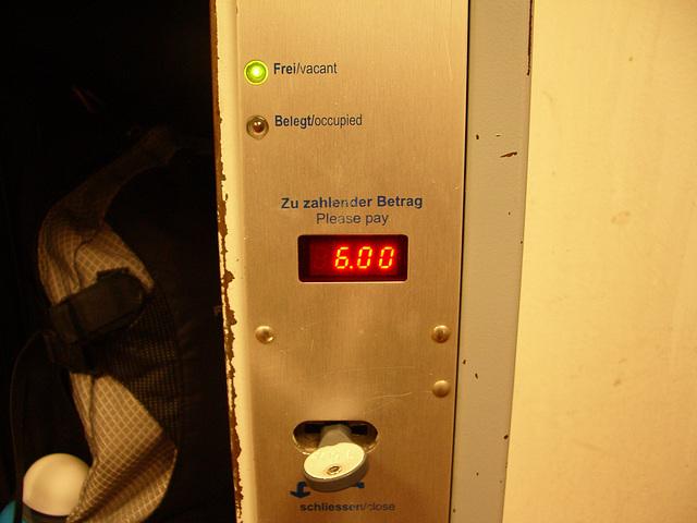 Hamburg - pricy locker