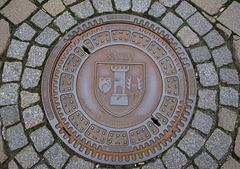 Kanaldeckel, Blankenburg