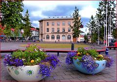 Akureyri : la piazza principale - (512)
