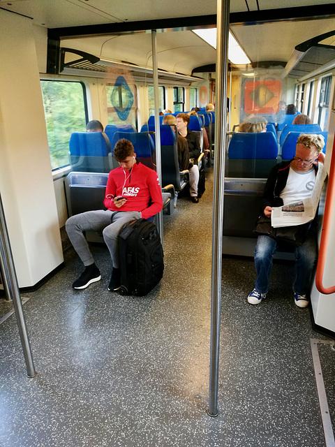 Dutch train interior