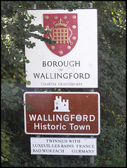 Wallingford sign