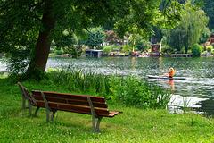 HBM - Stand up paddling im Sitzen (PiP)