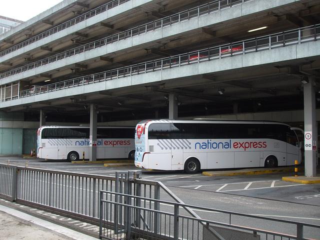 DSCF0628 National Express Coach Station, Manchester - 5 Jul 2015