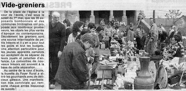 Vide-Greniers 1er mai 1996