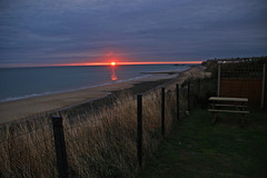 Sunrise at East Runton