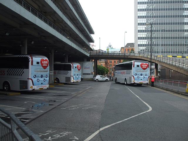 DSCF0625 National Express Coach Station, Manchester - 5 Jul 2015