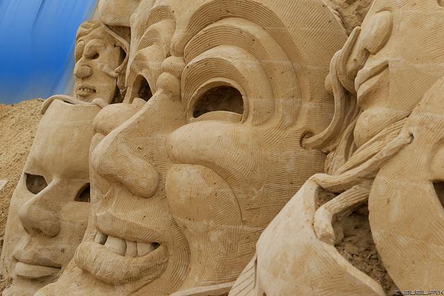 Sandskulpturen Festival 2016 Usedom (© Buelipix)