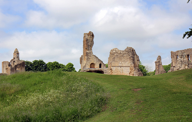 Sherborne Old Castle.   Clairevoie