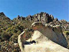 Sierra de La Cabrera granite.