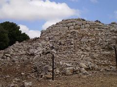 Talayot - funerary chamber.