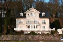 Retromodernes Haus. Falkenstein, 15.2. 2015