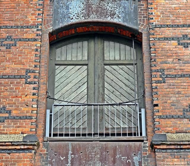 Speicherstadt - Lagerhausfenster