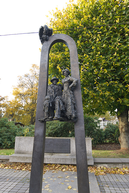 Denkmal für Janis Rainis und Aspazija