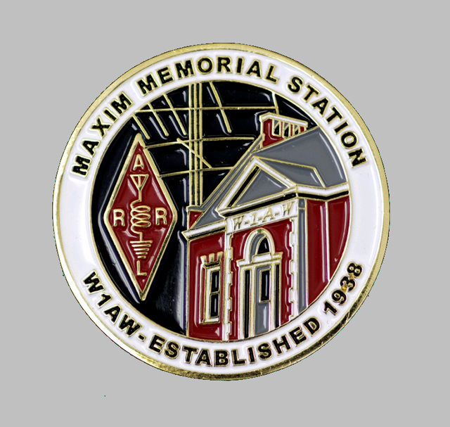 W1AW Challenge Coin